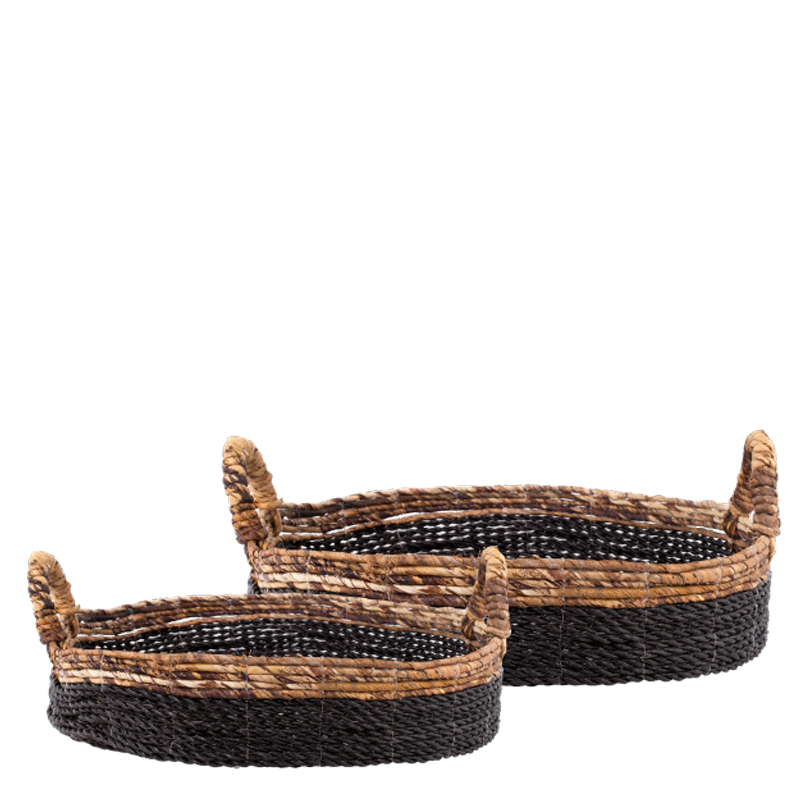 KEYAH BASKET BLACK SET (128274/275)