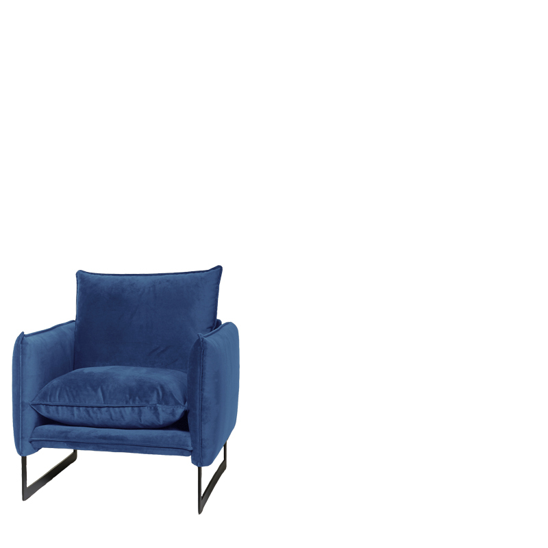 MILAN SOFA 1 SEAT SEVEN DENIM