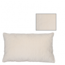 LERAINE PILLOW IVORY 50X30