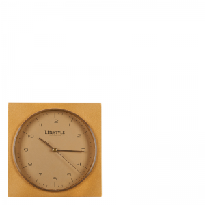AMSTERDAM TABLE CLOCK GOLD
