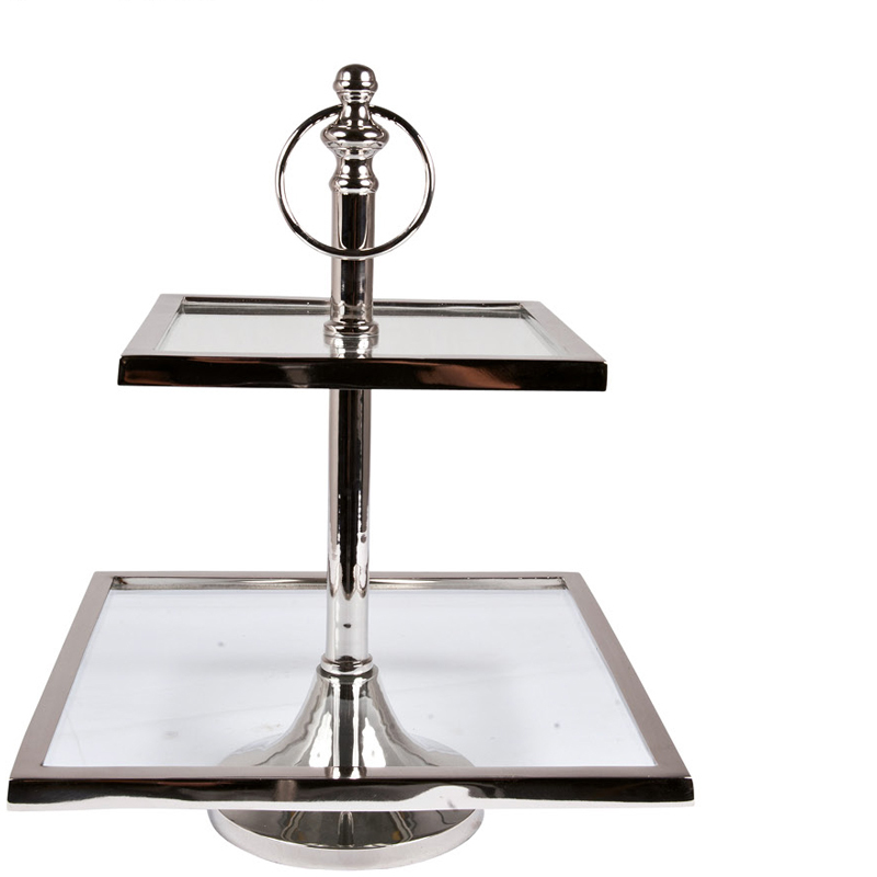 NORWICH CAKESTAND 2 LEVEL SQUARE