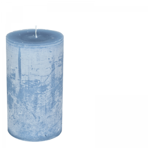 MICHEL CANDLE Ø10X20 MAJORBLUE
