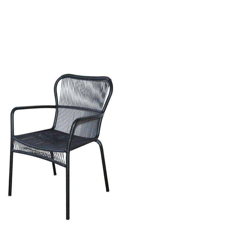 PALM BEACH COAST DINING ARMCHAIR GREY