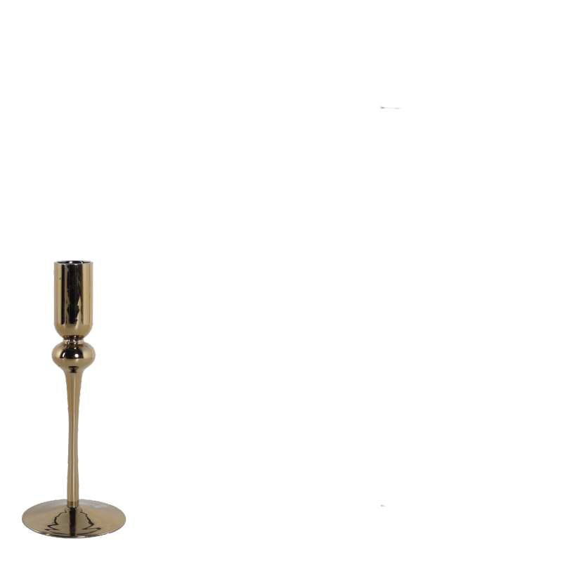 EVI CANDLE HOLDER GOLD S