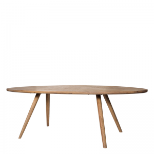 BERTRIX DINING TABLE OVAL 240X115X78