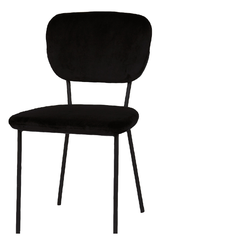 CLEVELAND DINING CHAIR BLACK