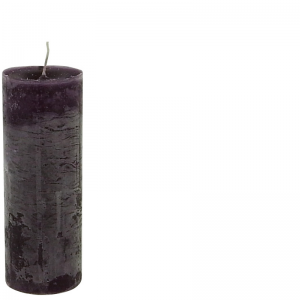 BERNARD CANDLE Ø7X20 PURPLE