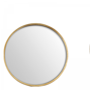 ANTIQUE MIRROR ROUND L