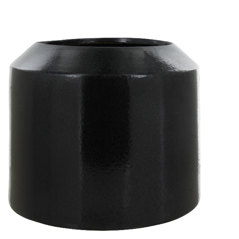 GINO FLOWER POT BLACK L