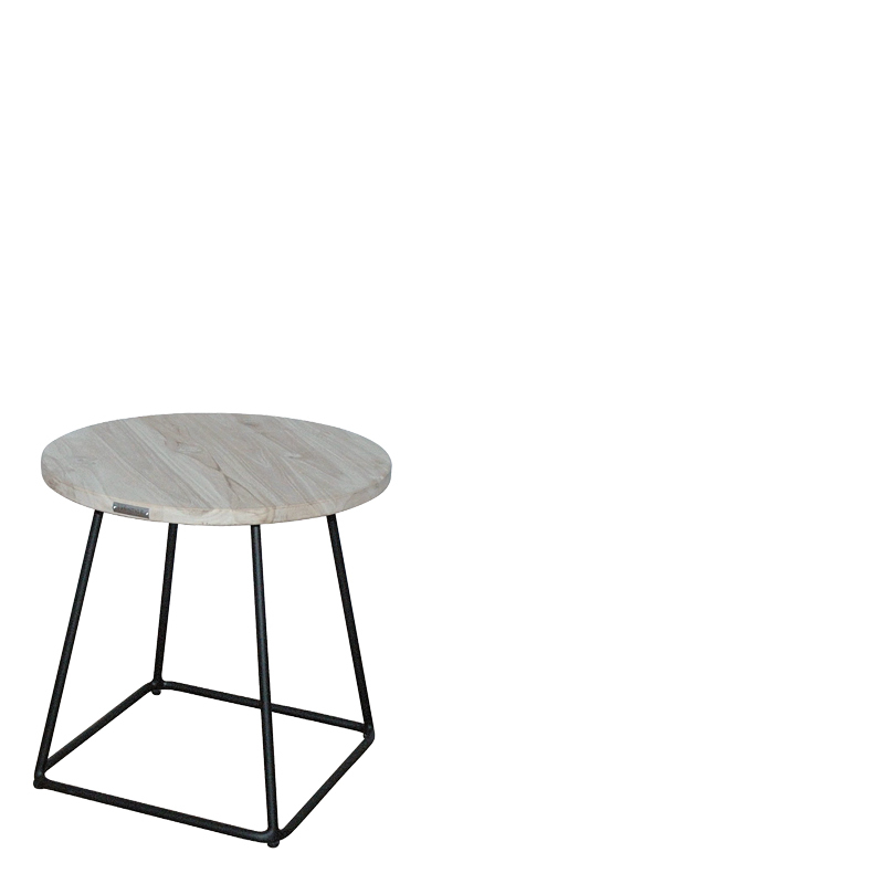 PALM BEACH COFFEETABLE ROUND Ø57XH50 GREY