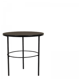 RADISSON COFFEE TABLE BLACK ROUND 50X50X50