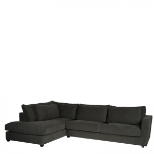 NAPELS LOUNGE SOFA LEFT GREY