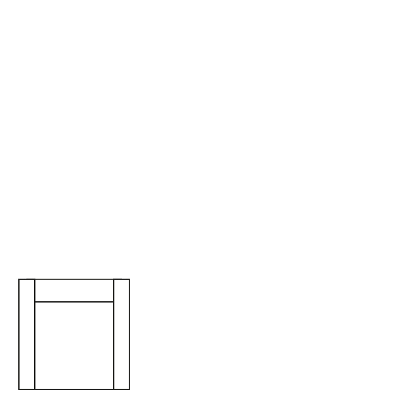 PERUGIA 1 SEAT SEVEN WINE RED 39 B-100/H-86/D-95