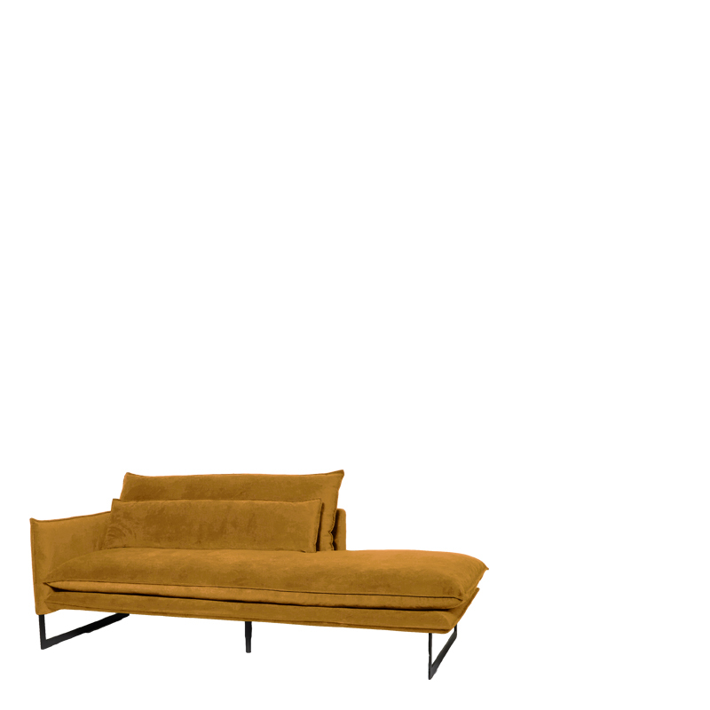 MILAN DAYBED LEFT SEVEN OCRE