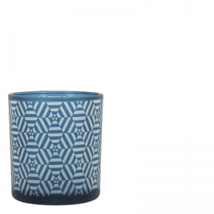 ETHNIC VOTIVE BLUE S