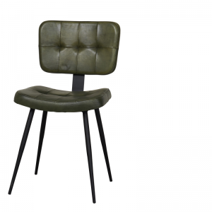 CHESTER DINING CHAIR GREEN W-45/D-55/H-84