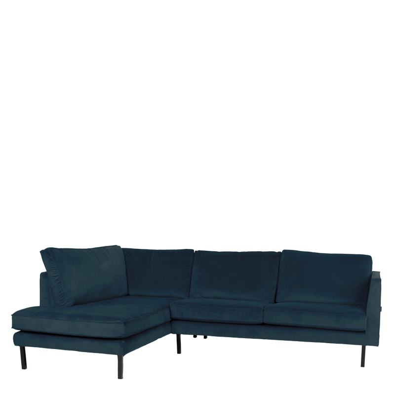 PERUGIA LOUNGE SOFA LEFT SEVEN EMERALD
