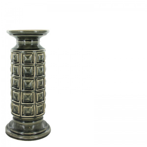 ROA CANDLE HOLDER GREY L