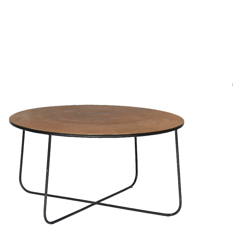 AUGUSTINE COFFEE TABLE Ø70X39