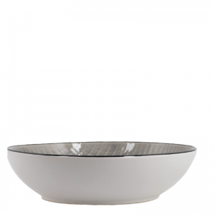 KRIS SALAD BOWL LIGHT GREY