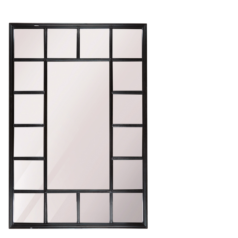 FERNAO MIRROR RECTANGLE BLACK
