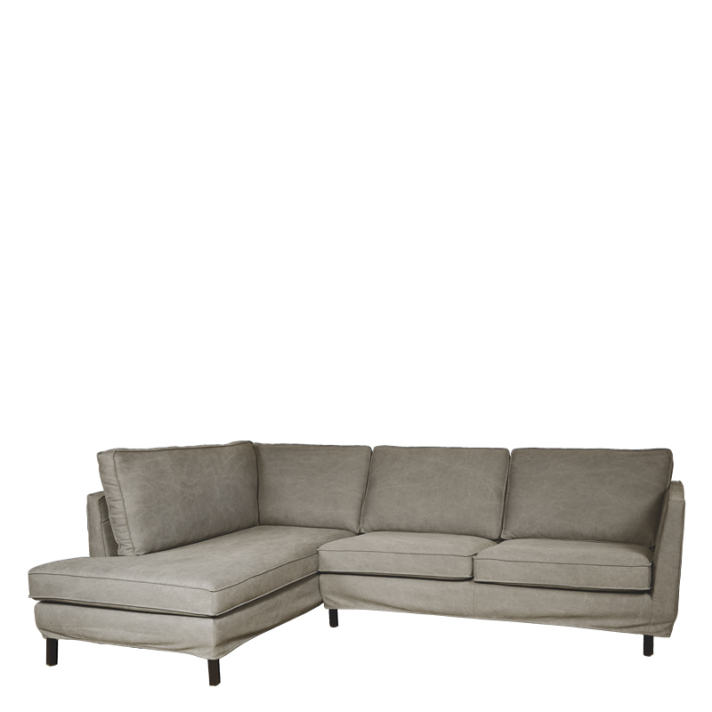 PERUGIA LOOSE COVER LOUNGE SOFA LEFT LAVABO SAND