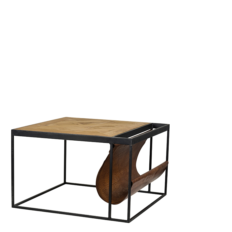BALTIMORE MAGAZINE COFFEE TABLE W60/D60/H33