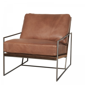 HOUSTON ARMCHAIR COCOA BROWN