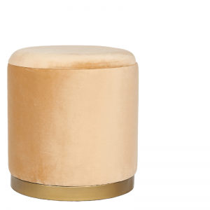 MADYSEN STOOL LIGHT BROWN 40X40X45