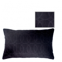 LERAINE PILLOW BLACK 50X30