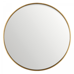 ANTIQUE GOLD MIRROR ROUND 150CM