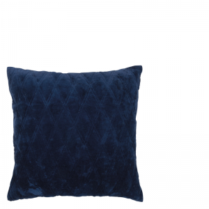 DASCHA PILLOW DARK BLUE 50X50