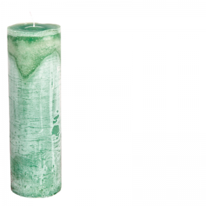 RONALD CANDLE Ø7X25 EMERALDGREEN