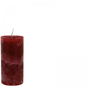 LARS CANDLE 7X15 RED