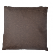 WISCONSON PILLOW BROWN 50X50