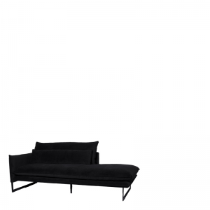 MILAN DAYBED LEFT SEVEN ONYX