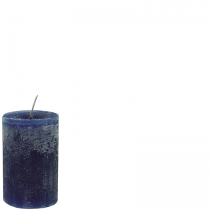 DANIEL CANDLE 7X10 DARK BLUE
