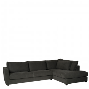 NAPELS LOUNGE SOFA RIGHT GREY