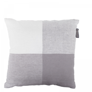 BINDI LINEN PILLOW GREY 50X50