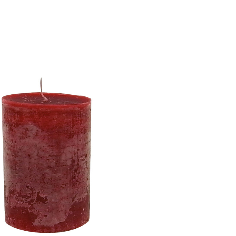 LUDO CANDLE Ø10X15 RED