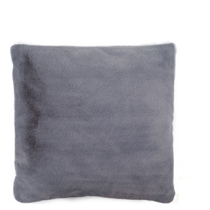 LYALL FUR PILLOW GREY