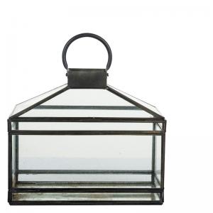 antique lantern rectangular l lifestyle home collection. Black Bedroom Furniture Sets. Home Design Ideas