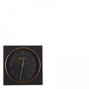 AMSTERDAM TABLE CLOCK BLACK
