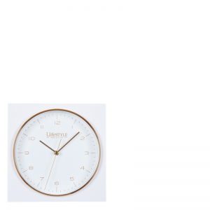 AMSTERDAM TABLE CLOCK WHITE