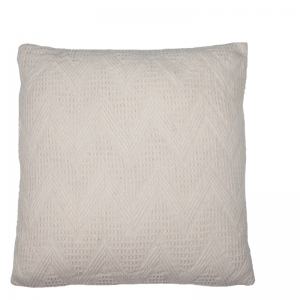 YARA PILLOW IVORY 50X50