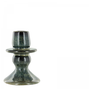 AMAIA CANDLE HOLDER GREEN BLUE S