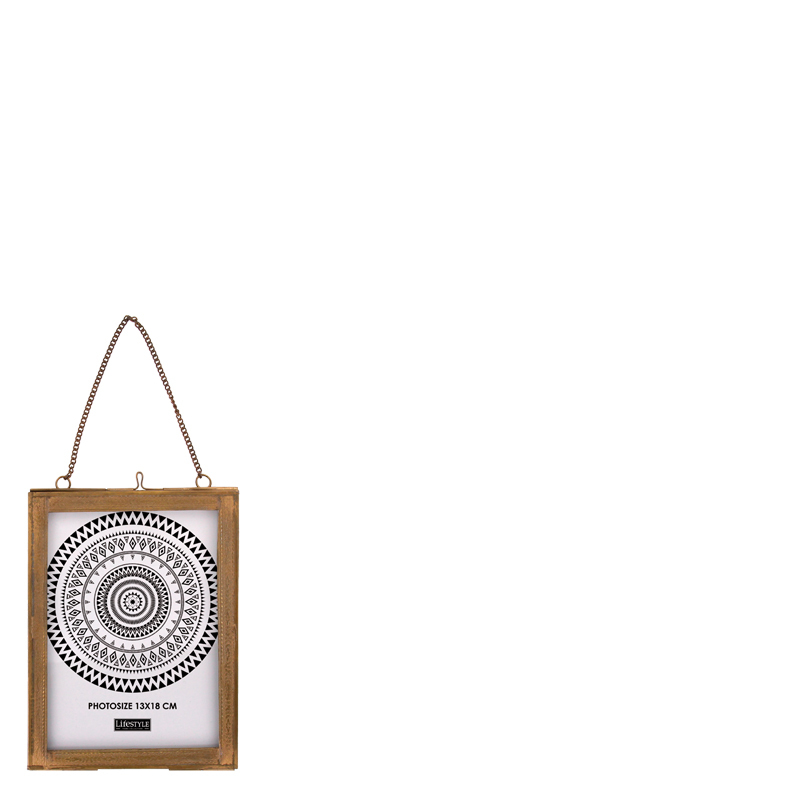 ZONIA HANGING PHOTO FRAME 13X18CM