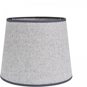 OXFORD COTTON SHADE ROUND LIGHT GREY XL