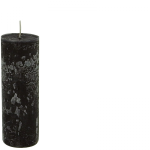 BERNARD CANDLE Ø7X20 BLACK