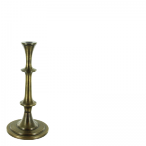 LARRY CANDLE HOLDER BRASS S